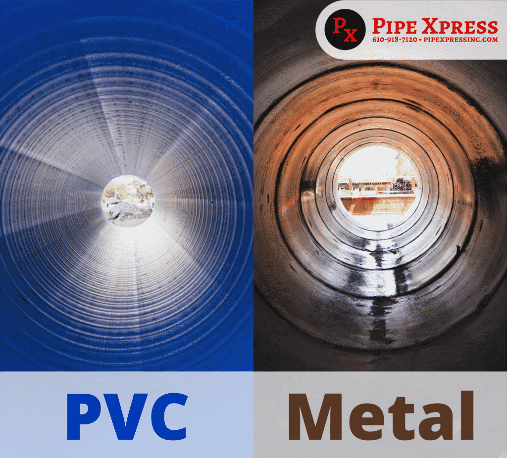 PVC vs Metal Piping Material